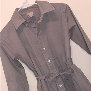 American Apparel Button-up dress